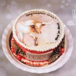 Bevo cake for calvin