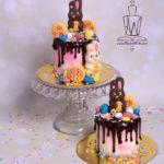 Bunny foo foo drip cakes