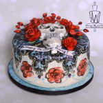 Grateful dead cake side view