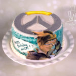 Overwatch cake-Tracer