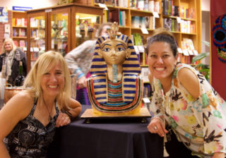 King Tut Book Launch Cake for P.J. (Tricia) Hoover