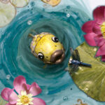 Junichi the golden fish children's book